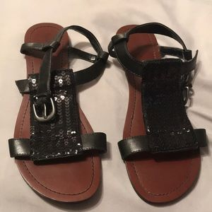 Black mossimo sandals